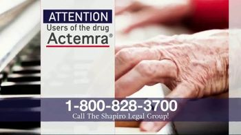 Shapiro Legal Group TV Spot, 'Actemra' - Thumbnail 2