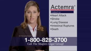 Shapiro Legal Group TV Spot, 'Actemra' - Thumbnail 4
