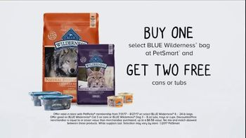 PetSmart TV Spot, 'Sam and BLUE Wilderness: Buy One Get Two Free' - Thumbnail 7