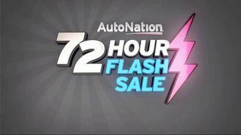 AutoNation 72 Hour Flash Sale TV Spot, '2017 Nissan Rogue S' - Thumbnail 1