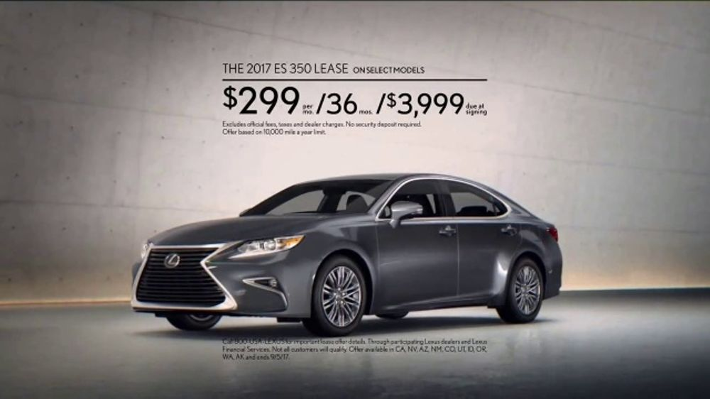 Lexus Golden Opportunity Sales Event Tv Commercial Unparalleled Luxury Es 350 T2 Ispot Tv