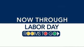 Rooms to Go Labor Day Sale TV Spot, 'Five-Piece Living Room' - Thumbnail 1