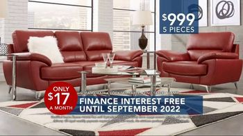 Rooms to Go Labor Day Sale TV Spot, 'Five-Piece Living Room' - Thumbnail 3