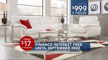 Rooms to Go Labor Day Sale TV Spot, 'Five-Piece Living Room' - Thumbnail 5