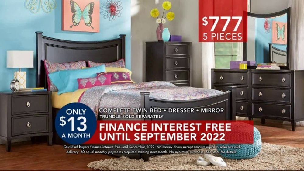 Rooms to go kids teens tv commercial 39 kids 39 bedrooms for Room to go kid