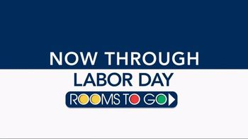 Rooms to Go TV Spot, 'Five-Piece Bedrooms' - Thumbnail 1