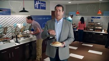 Holiday Inn Express TV Spot, 'Breakfast Love' Featuring Rob Riggle