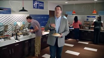 Holiday Inn Express TV Spot, 'Breakfast Love' Featuring Rob Riggle - Thumbnail 1