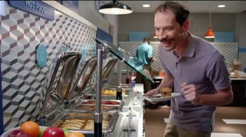 Holiday Inn Express TV Spot, 'Breakfast Love' Featuring Rob Riggle - Thumbnail 6