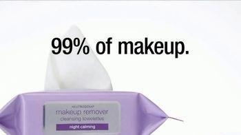 Neutrogena Makeup Remover Towelettes TV Spot, 'Too Tired?' Ft. Olivia Holt - Thumbnail 3