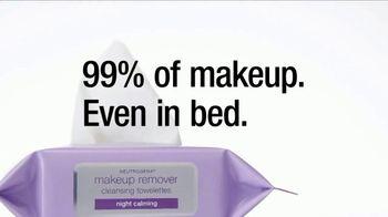 Neutrogena Makeup Remover Towelettes TV Spot, 'Too Tired?' Ft. Olivia Holt - Thumbnail 4