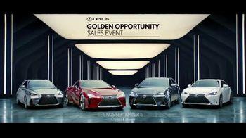 Lexus Golden Opportunity Sales Event TV Spot, 'Performance' [T2] - Thumbnail 3