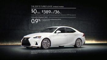 Lexus Golden Opportunity Sales Event TV Spot, 'Performance' [T2] - Thumbnail 5