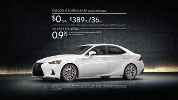 Lexus Golden Opportunity Sales Event TV Spot, 'Performance' [T2] - Thumbnail 6