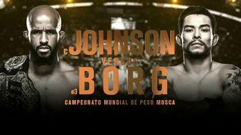 UFC 215 TV Spot, 'Johnson vs. Borg: histórico' [Spanish] - 23 commercial airings
