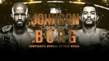 UFC 215 TV Spot, 'Johnson vs. Borg: histórico' [Spanish] - 23 commercial airings