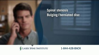 Laser Spine Institute TV Spot, 'Curtis Stand Tall' - Thumbnail 3