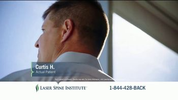 Laser Spine Institute TV Spot, 'Curtis Stand Tall' - Thumbnail 7