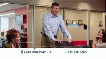 Laser Spine Institute TV Spot, 'Curtis Stand Tall' - Thumbnail 8