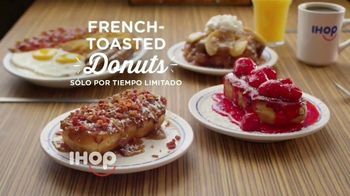 IHOP French Toasted Donuts TV Spot, 'Deténgase un momento' [Spanish] - Thumbnail 9