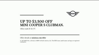 MINI Cooper Clubman TV Spot, 'Up To Something Big' Song by KYSN [T2] - Thumbnail 10