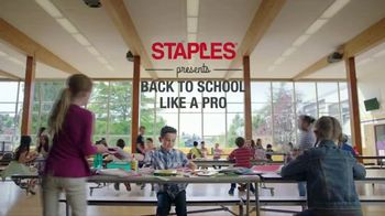 Staples TV Spot, 'Back to School Like a Pro: President' - Thumbnail 1