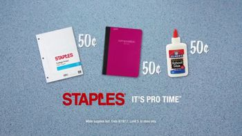 Staples TV Spot, 'Back to School Like a Pro: President' - Thumbnail 7