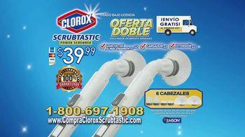 Clorox Scrubtastic Power Scrubber TV Spot, 'Sin esfuerzo' [Spanish] - Thumbnail 10