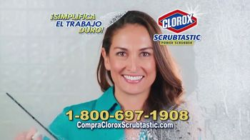 Clorox Scrubtastic Power Scrubber TV Spot, 'Sin esfuerzo' [Spanish] - Thumbnail 5
