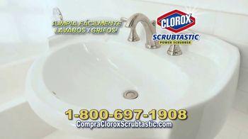 Clorox Scrubtastic Power Scrubber TV Spot, 'Sin esfuerzo' [Spanish] - Thumbnail 6