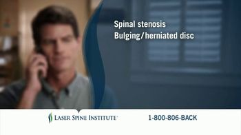 Laser Spine Institute TV Spot, 'Jerry Stand Tall'