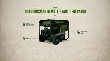 Cabela's Outdoorsman Remote-Start Generator TV Spot, 'Quiet Confidence' - Thumbnail 6
