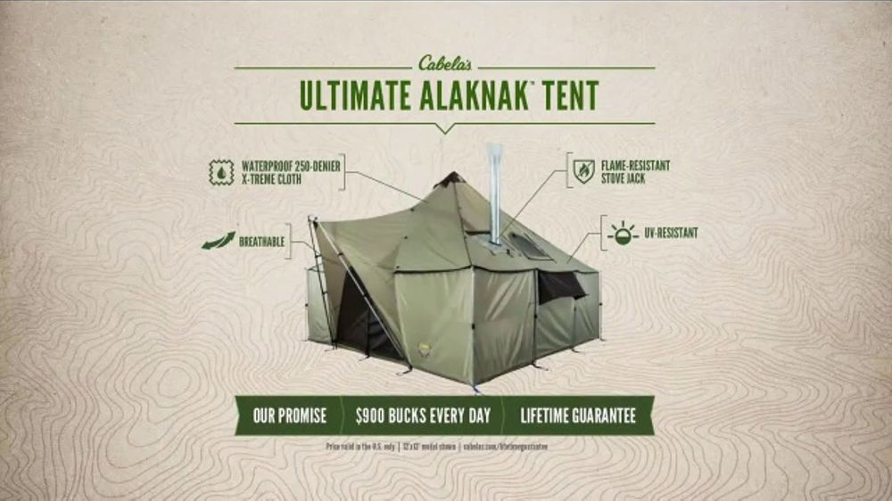 Cabelau0027s Outfitter Series TV Commercial u0027Ultimate Alaknak Tentu0027 - iSpot.tv & Cabelau0027s Outfitter Series TV Commercial u0027Ultimate Alaknak Tent ...