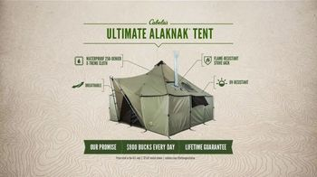 Cabela's Outfitter Series TV Spot, 'Ultimate Alaknak Tent'