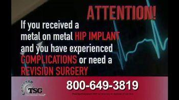 The Sentinel Group TV Spot, 'Hip Implant' - Thumbnail 2