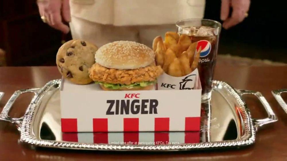 KFC $5 Fill Ups TV Commercial, \'Deep Breath\' Featuring Jim Gaffigan ...