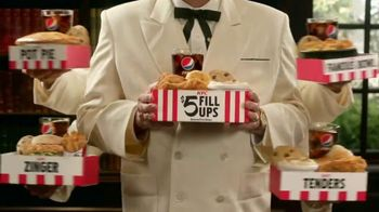 KFC $5 Fill Ups TV Spot, 'Deep Breath' Featuring Jim Gaffigan - Thumbnail 6