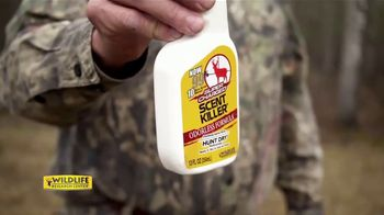 Wildlife Research Center Super Charged Scent Killer TV Spot, 'Hunt Dry' - Thumbnail 3