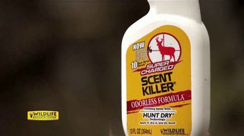Wildlife Research Center Super Charged Scent Killer TV Spot, 'Hunt Dry' - Thumbnail 8