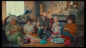 GoDaddy GoCentral TV Spot, \'Biker Mike\'s Crochet Classes\'