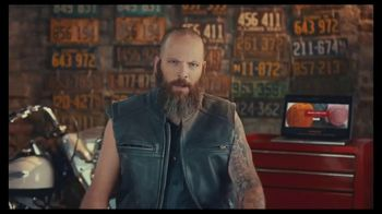GoDaddy GoCentral TV Spot, 'Biker Mike's Crochet Classes' - Thumbnail 1