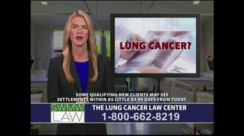 SWMW Law TV Spot, 'Lung Cancer Diagnosis' - Thumbnail 1
