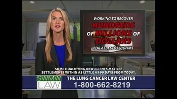 SWMW Law TV Spot, 'Lung Cancer Diagnosis' - Thumbnail 5