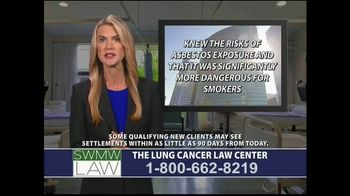 SWMW Law TV Spot, 'Lung Cancer Diagnosis' - Thumbnail 7