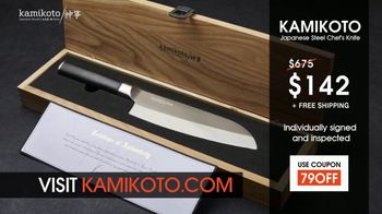 Kamikoto TV Spot, 'Masters of Tradition'
