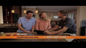 Generac Automatic Home Standby Generator TV Spot, 'Power Stays On'
