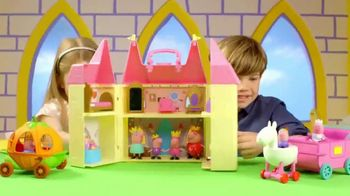 Peppa Pig Princess Castle Playset TV Spot, 'Celebration' - 1689 commercial airings