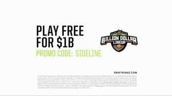 DraftKings Billion Dollar Lineup TV Spot, 'Earnings Dysfunction' - Thumbnail 5