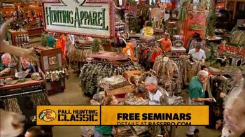 Bass Pro Shops Fall Hunting Classic TV Spot, 'Free Seminars & Trade-Ins' - Thumbnail 5