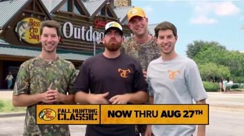 Bass Pro Shops Fall Hunting Classic TV Spot, 'Free Seminars & Trade-Ins' - 208 commercial airings